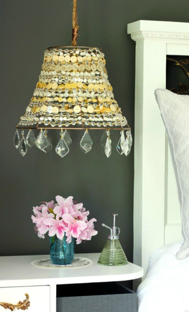 15 quick and easy gift ideas using buttons hometalk s 15 quick and easy gift ideas using buttons string them into a beautiful lamp negle Image collections