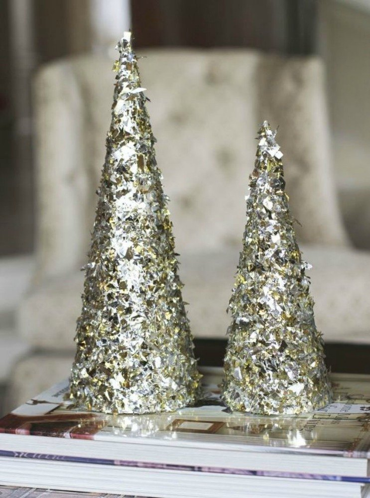Fold Tin Foil For These Breathtaking Christmas Decor Ideas Hometalk