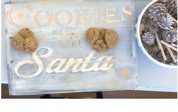 Cookie Tray for Santa
