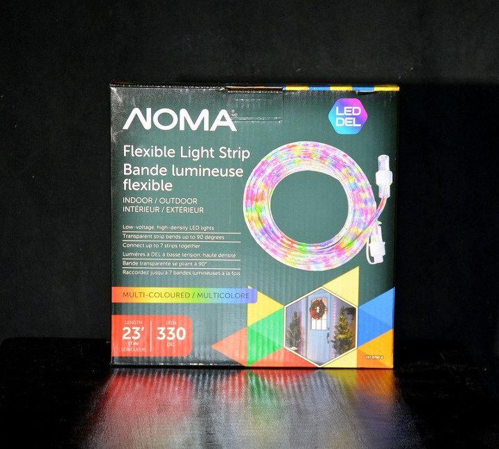 alternative outdoor christmas lighting idea, lighting