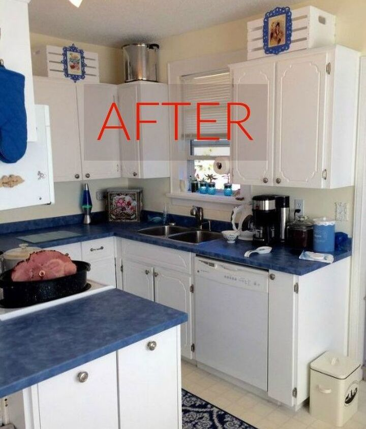 s you ll rethink your kitchen color when you see these paint combos, kitchen design, After A bright and blue and quaint design