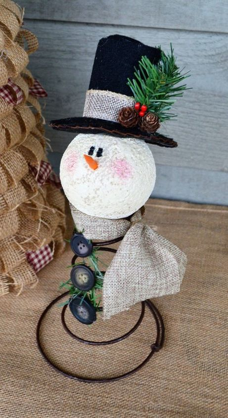 Quot Rusty Quot The Old Bed Spring Snowman Hometalk