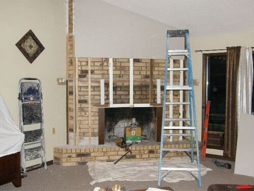 How Refinish Brick Fire Place Hometalk