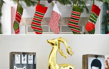 Make Your Own Wood Block Stocking Holders
