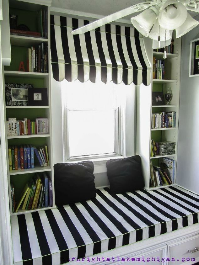 s 12 practical window updates that also look amazing, Transform it into a cozy reading nook