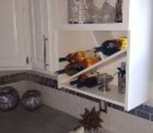 transformation of a microwave cabinet, appliances, kitchen cabinets, kitchen design