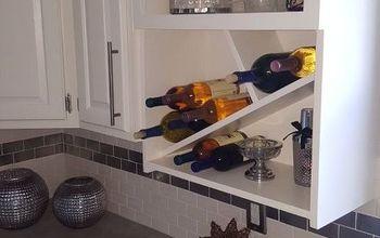 transformation of a microwave cabinet, appliances, kitchen cabinets, kitchen design