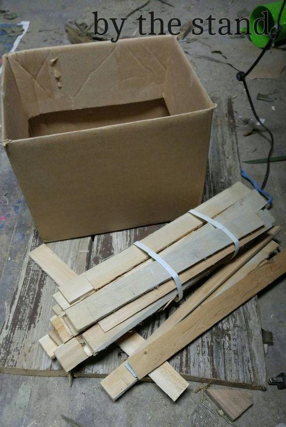 diy wood shim box