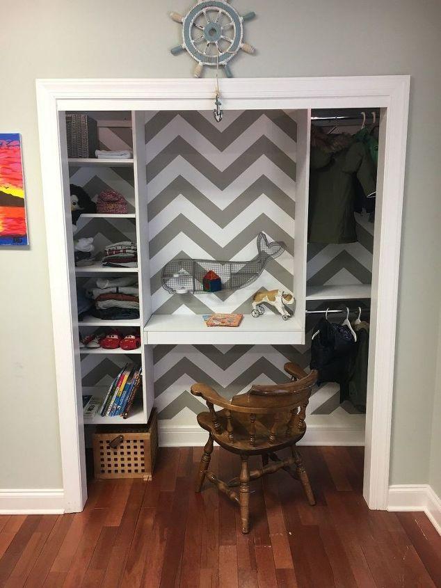 kid s bedroom closet diy, bedroom ideas, closet