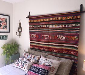 Perfect How To Hang A Rug With A Dollar Store Belt, How To, Reupholster