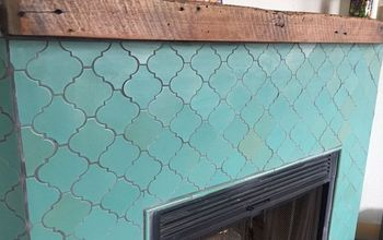 Fireplace Makeover! Learn How to Tile