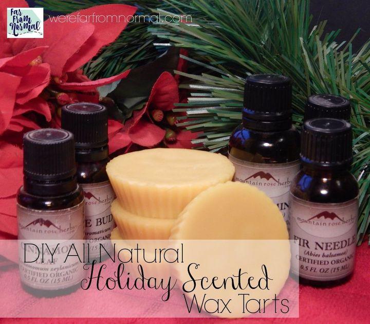 all natural christmas scented wax tarts