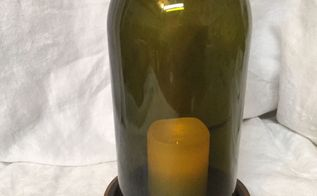 wine bottle decor, home decor