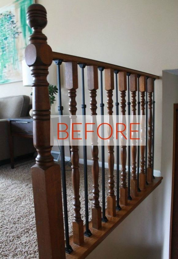 Stop Everything These Banister Makeovers Look Ah Mazing