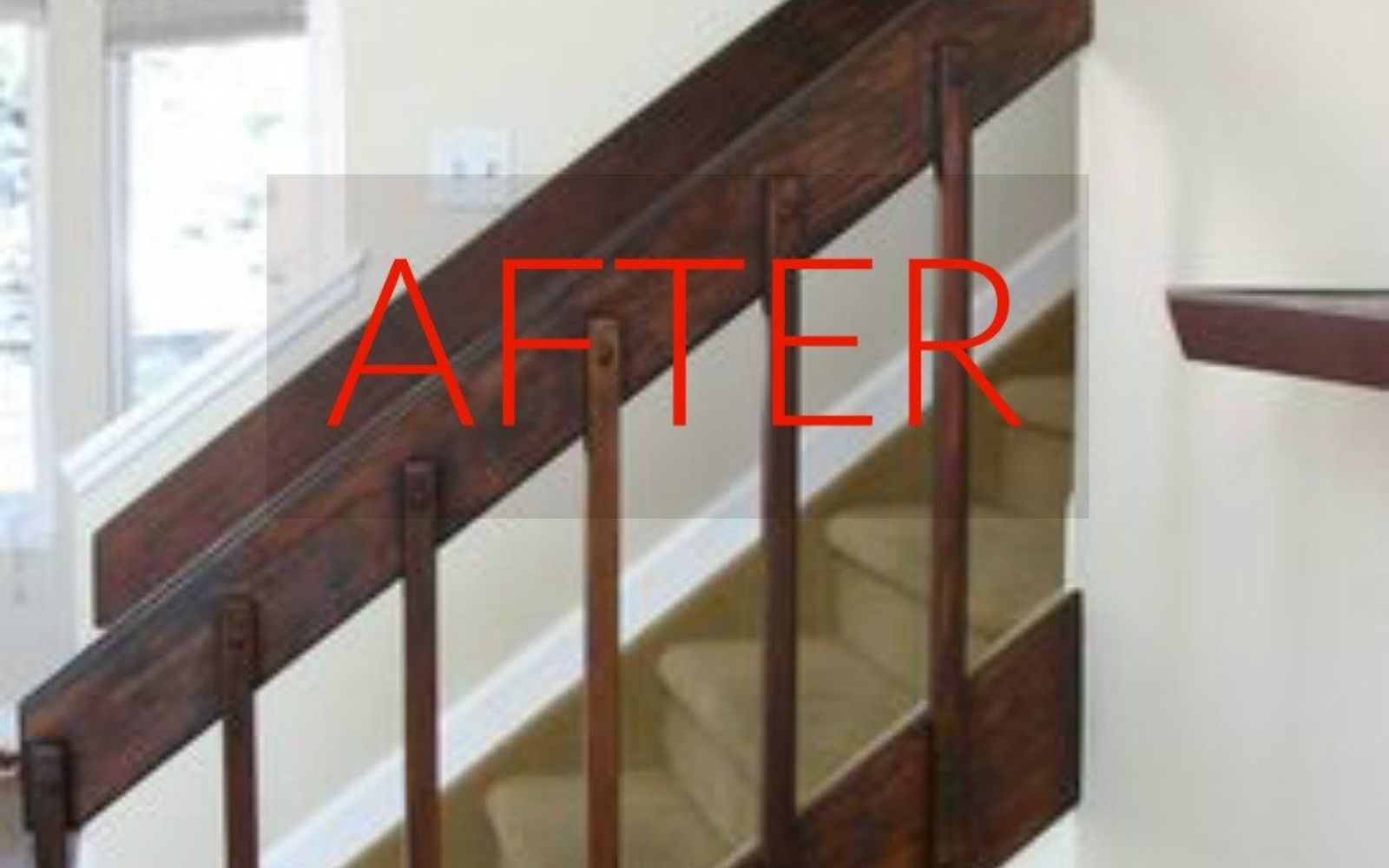 s stop everything these banister makeovers look ah mazing, After A dark beauty