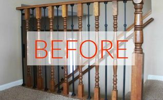 s stop everything these banister makeovers look ah mazing
