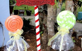 Christmas Lollipops and Pole