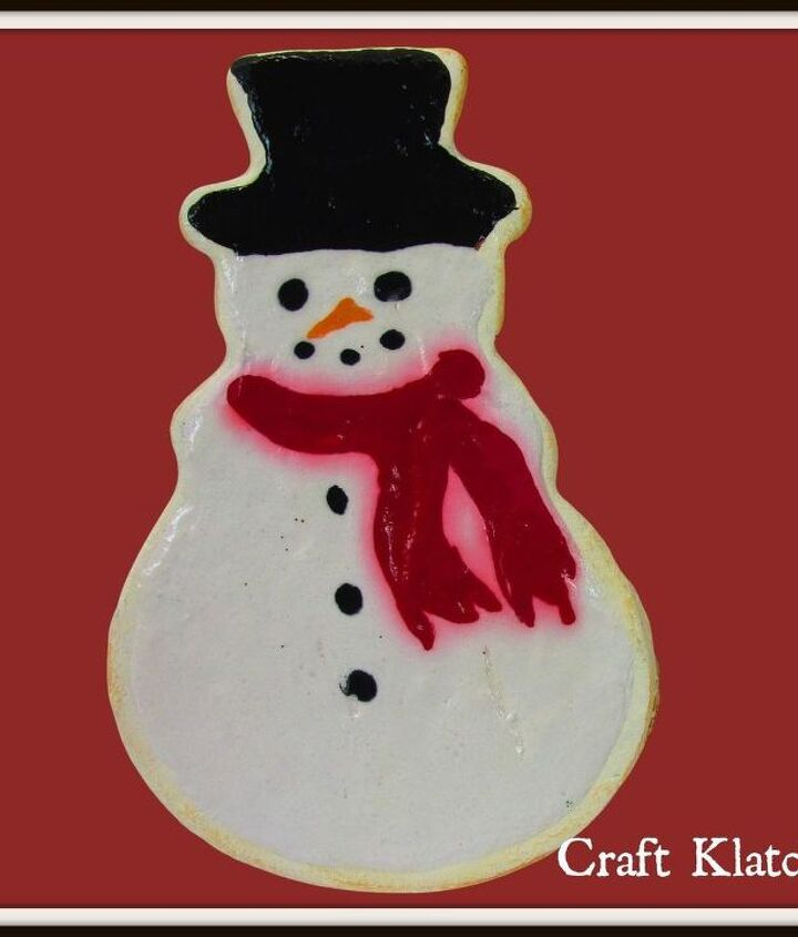 diy project christmas cookie drink coasters