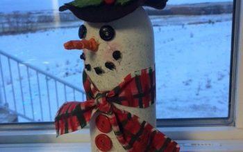wino snowman