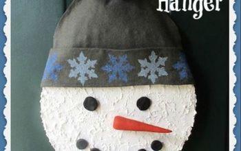 snowman door hanger, doors