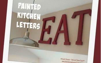 eat kitchen sign, crafts, kitchen design