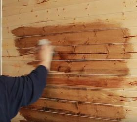 Diy Rustic Wood Wall Under 40 Hometalk