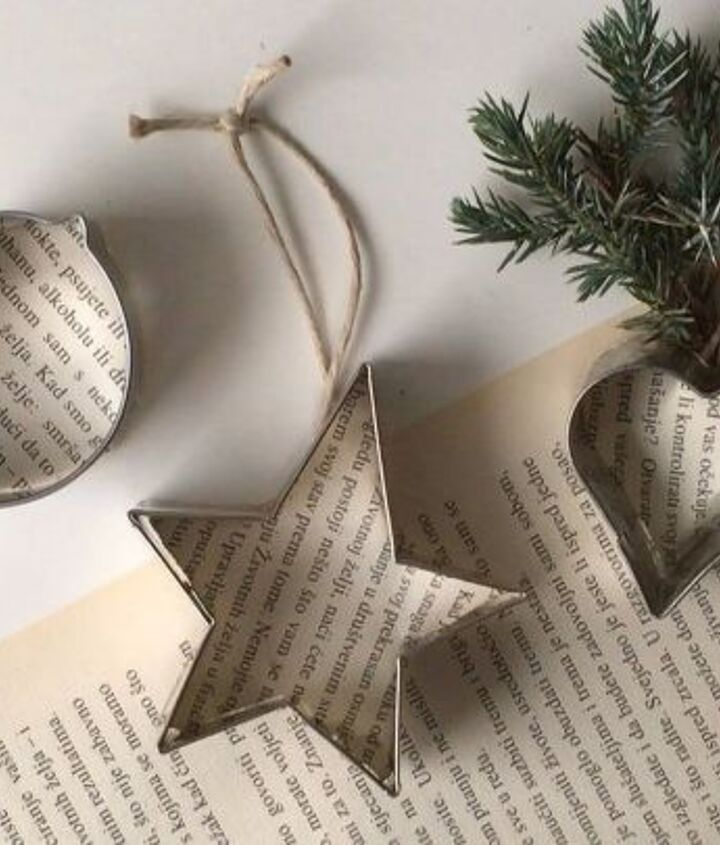 cookie cutter christmas ornaments, christmas decorations, seasonal holiday decor