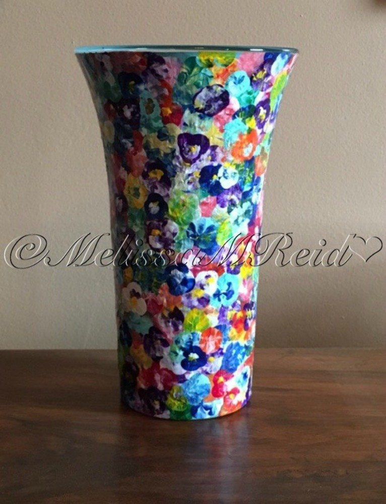 Glass Vase Painting Ideas Painting Ideas