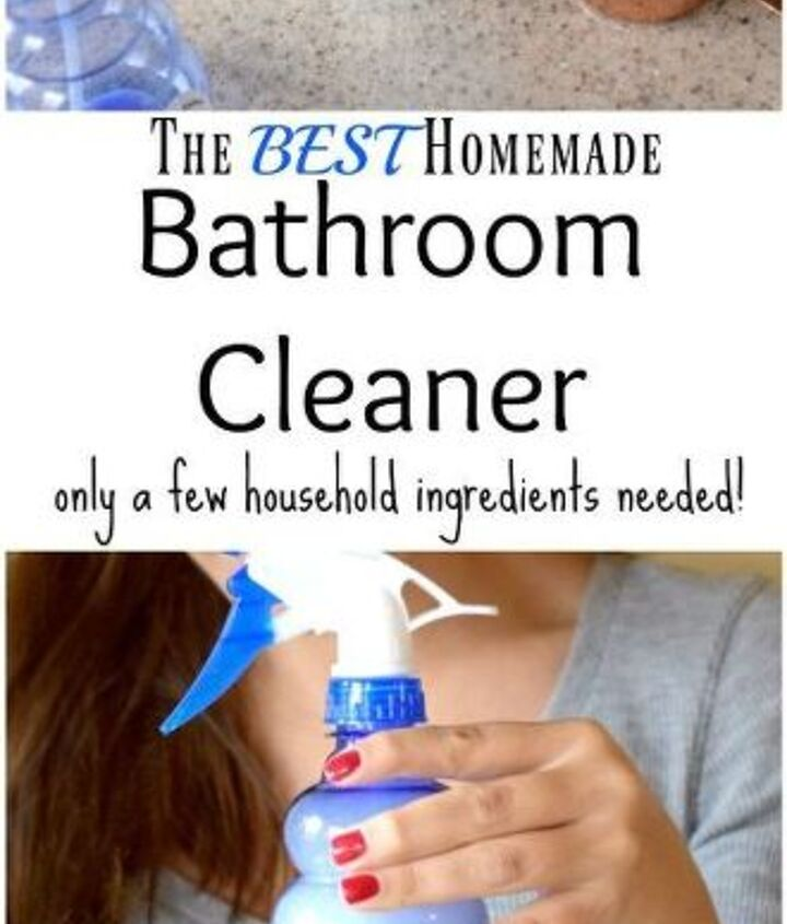 the best homemade bathroom cleaner tested proven only a few items, bathroom ideas