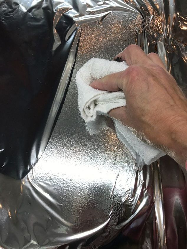 Transferring the Silver Foil