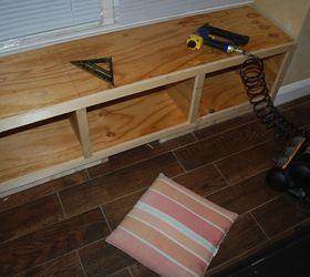 Diy Window Bench Seat With Drawer Storage, Outdoor Furniture, Storage Ideas