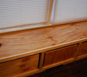 diy window bench seat with drawer storage outdoor furniture storage ideas