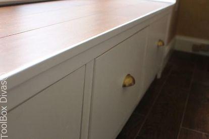 Diy Window Bench Seat With Drawer Storage Outdoor Furniture Ideas