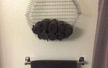 Wire Hexagon Shaped Shelf