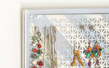 Make a Jewelry Organizer That Double as Wall Decor!