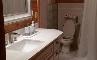 small bathroom makeover on a budget sorta, bathroom ideas