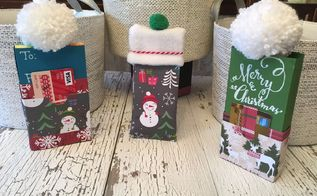 fleece hats and holiday sleeves for your candy bars