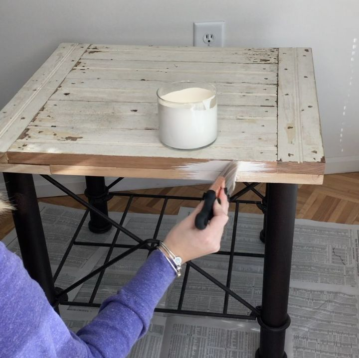 how to make chalky finish paint with baking soda hometalk. Black Bedroom Furniture Sets. Home Design Ideas