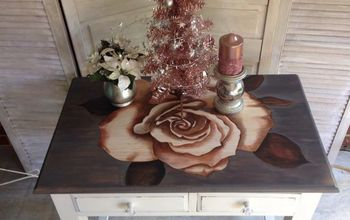Stained Rose Table