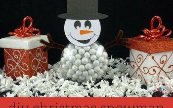 diy christmas snowman treats