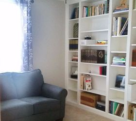 Awesome Diy Library Wall Billy Built In Bookcases, Closet
