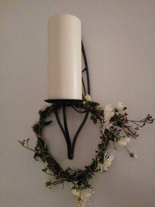 q tip a nice way to utilize flowers on their way out, gardening