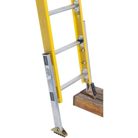 Don't rush! Make sure your ladder is well set