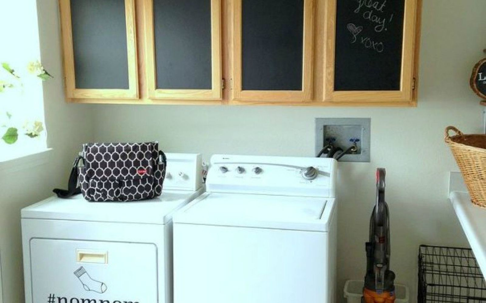 Cute Laundry Rooms Hate Your Dreary Laundry Room Try These 13 Cute Ideas  Hometalk
