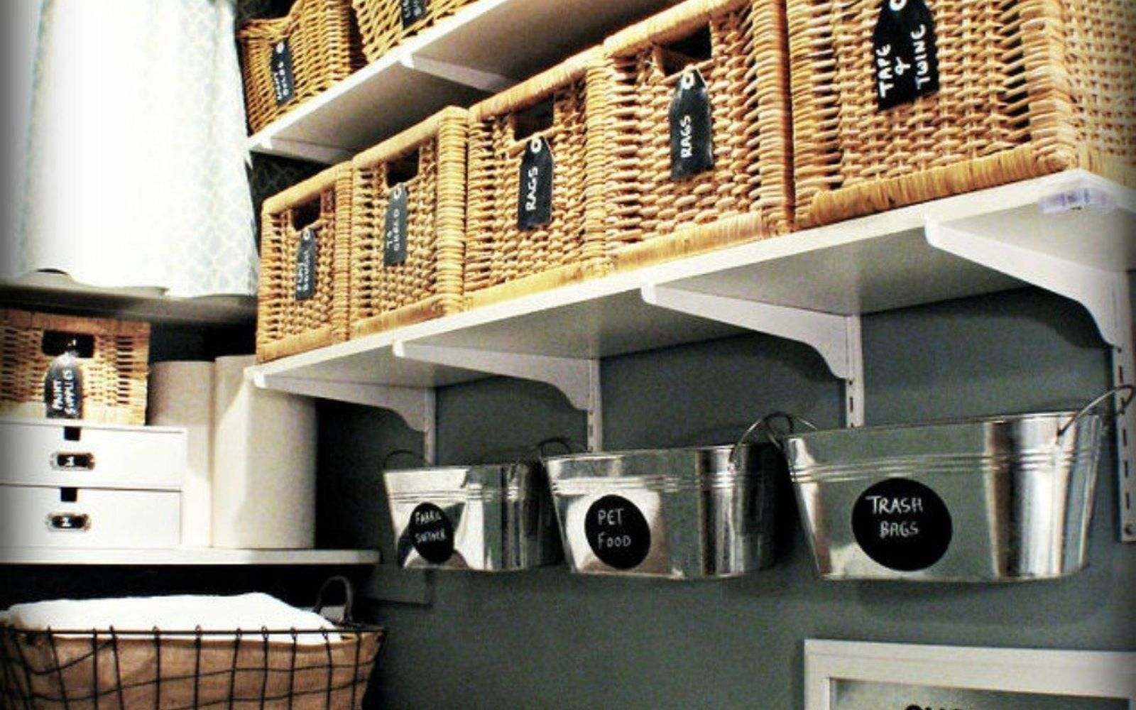 Hate Your Dreary Laundry Room  Try These 13 Cute Ideas