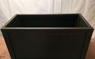 diy blanket box made from bi fold doors, doors