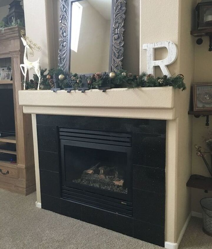 cleaning glass on gas fireplace, cleaning tips, fireplaces mantels
