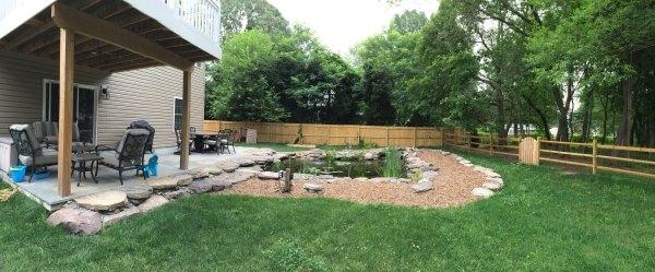 q backyard lighting needs help, lighting