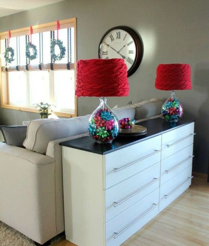 s use your old scarves for these x amazing home decor ideas, home decor, Wind it around a lampshade