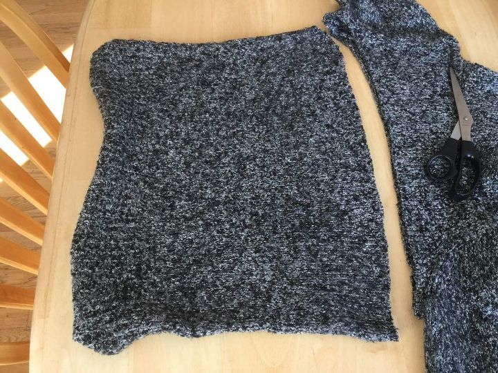 5 items for your winter home from one thrift store sweater